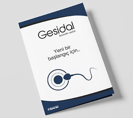 Pharma-Sem - Gesidal Broşür Tasarımı